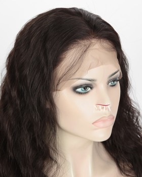 Nafawigs Natural Wave Wig Cheap Human Hair 360 Lace Wig