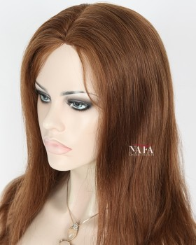 Nafawigs Unique Color Honey Chestnut Brown Sugar Wig