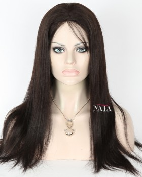 Nafawigs Virgin Chinese Light Yaki Straight Wig