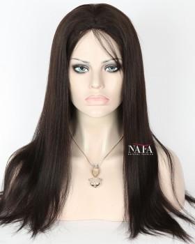 Nafawigs Virgin Chinese Light Yaki Straight Wig