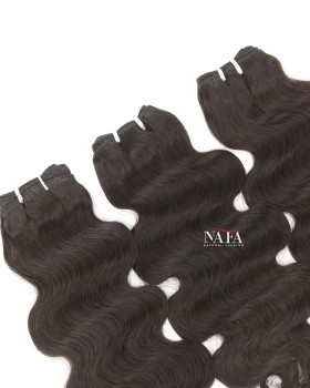 Nafawigs Different Length Body Wave Hair 3 Bundles
