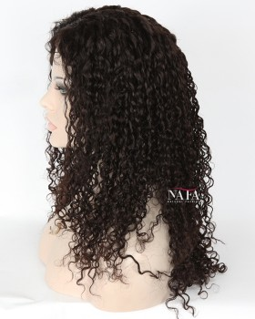 Striking Long Tight Curly Wigs 150 Density Human Hair