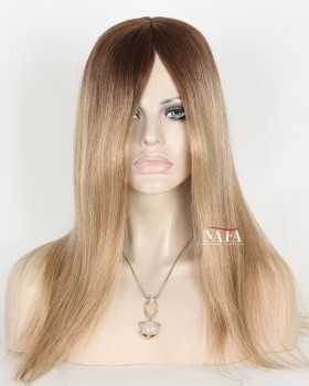 Best Undetectable Transparent Lace Front Wig Straight Ombre Wig