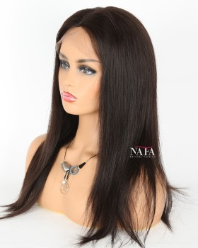 Nafawigs Yaki Straight Hair Wigs For Black Women
