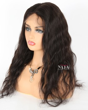 Nafafwigs Silk Base Closure Wig Natural Wave Brazilian Hair