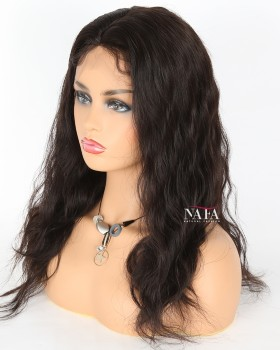 Virgin Chinese Natural Wave Silk Top Full Lace Wig