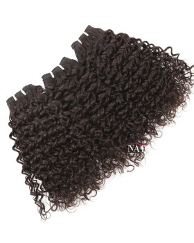 Short Afro Natural Curly For Black Hair 3 Bundles