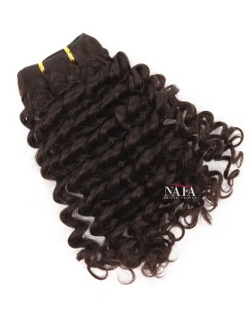 Nafawigs Indian Remy Deep Wave Human Hair 3 Bundles Natural Color