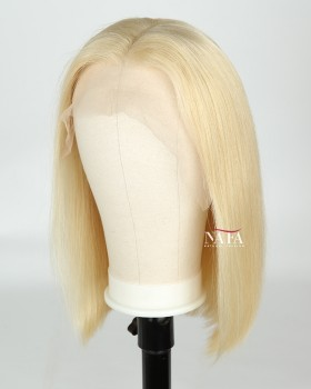 Talented Real Hair Blonde Bob Wig For Black Women