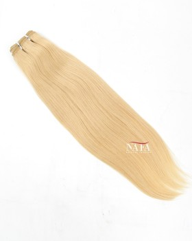 Nafawigs Straight 613 Blonde Weave Hair 3 Bundles