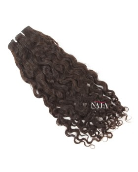 Virgin Brazilian Curly Molado Hair Natural Color