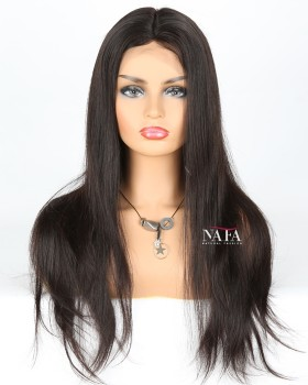 real-hair-wigs-long-straight-black-dark-brown-wig