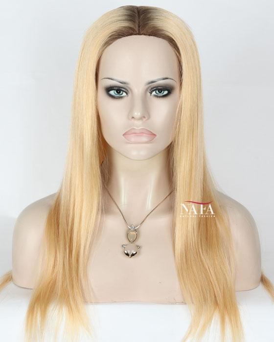 Blonde Wigs With Dark Roots