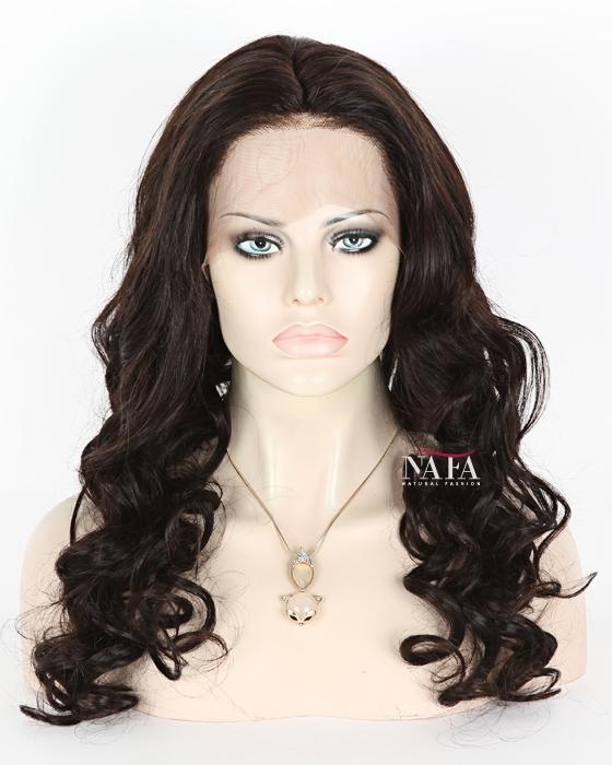 black 180 density human hair full lace wig